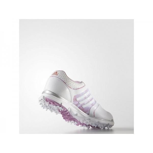 ADISTAR TOUR BOA adidas Damen Golf Schuhe - Weiß/Wld Ochid