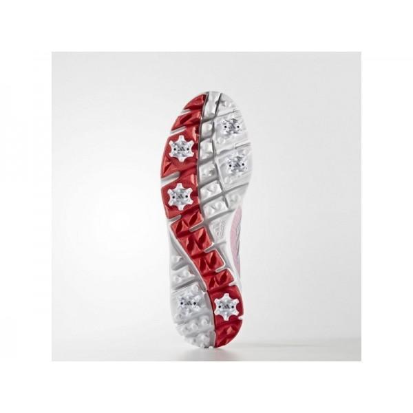 ADISTAR TOUR BOA adidas Damen Golf Schuhe - Ftwr Weiß/Slber/Ry Rd F6