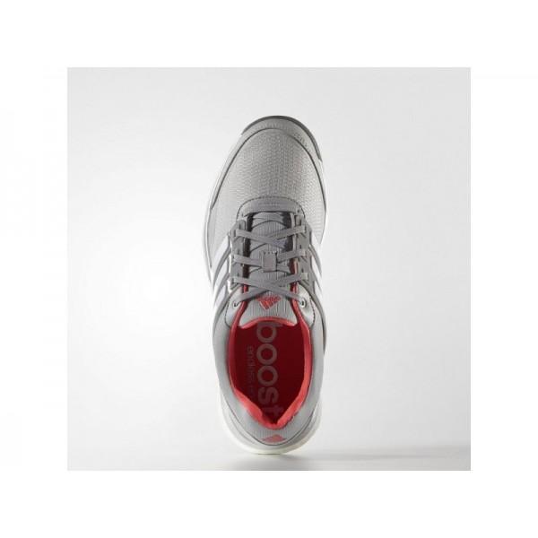 ADIPOWER SPORT BOOST 2.0 adidas Damen Golf Schuhe - Klar Onyx/Weiß/Rt Sock