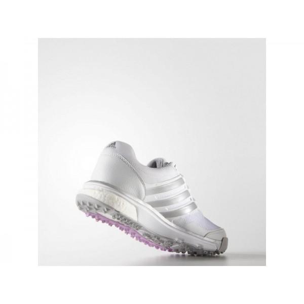 ADIPOWER SPORT BOOST 2.0 adidas Damen Golf Schuhe - Weiß/Slber/Wld Ochid